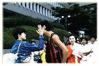Tsukushi slaps Doumyouji!