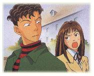 Tsukushi and Doumyouji argue